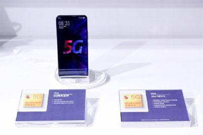 vivo NEX 5G手机现身2019上海联通展