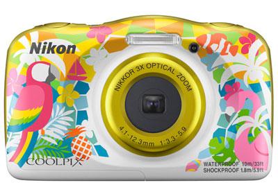 尼康推出防水防震轻便数码相机COOLPIX W150
