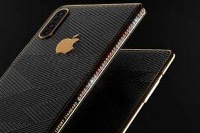 90颗钻石加持:苹果双折叠屏iPhone Z渲染图曝光
