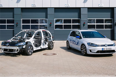 大众展示无遮挡eGon概念车 让孩子对新能源车感兴趣
