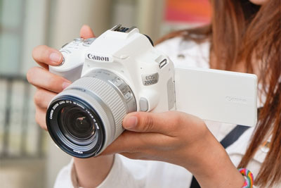 摄影入门与vlog神器 佳能200D II人像拍摄试用