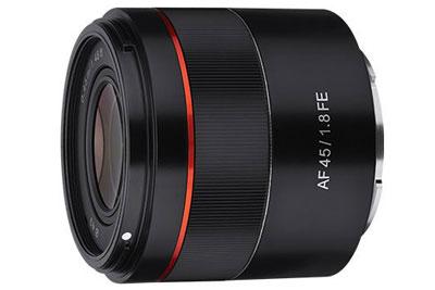 三阳发布AF 45mm F1.8 FE镜头