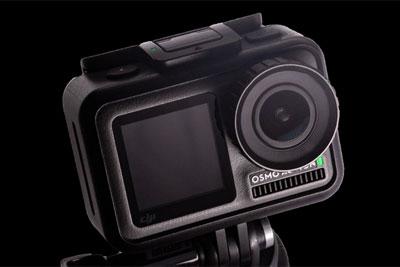 前后双屏 大疆OSMO ACTION运动相机评测