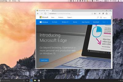 Microsoft Edge for Mac首次更新通过非官方渠道泄露