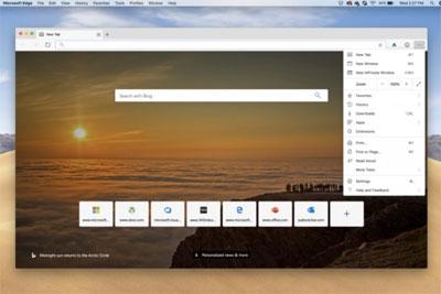微软为macOS用户推出首个Microsoft Edge预览版