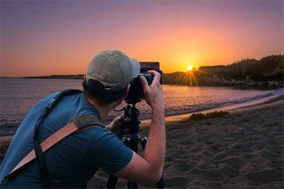 一台5D4的惨痛教训 相机对着太阳拍摄会怎样?