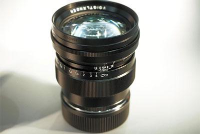 福伦达75mm F1.5 Aspherical VM镜头将于7月份发布