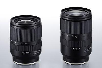 腾龙发布17-28mm F2.8 Di Ⅲ RXD索尼E卡口镜头