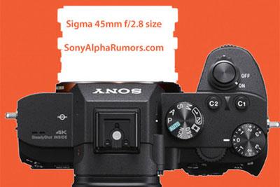 一反常态?适马即将推出45mm f/2.8镜头:超小巧