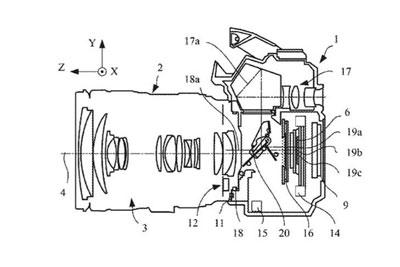 佳能新专利 IBIS将首次出现在佳能数码单反相机中