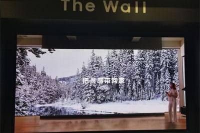 三星推The Wall系列产品 支持尺寸/比例/画质自定义