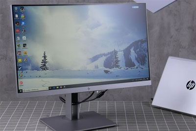 打造极简办公环境 惠普EliteDisplayE243d显示器评测