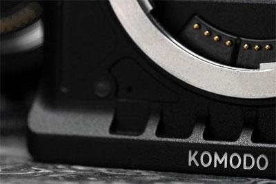 RED发布Komodo新机预告图,疑似采用佳能RF卡口_网赚小游戏