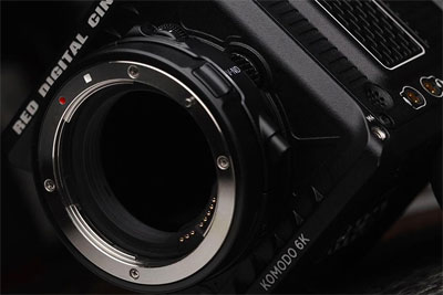 RED Komodo 6K摄影机将采用佳能RF无反镜头卡口