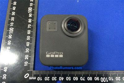 GoPro Max 360°全景相机外观曝光