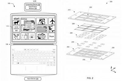专利暗示微软的新款Surface Pro采用了更薄的键盘