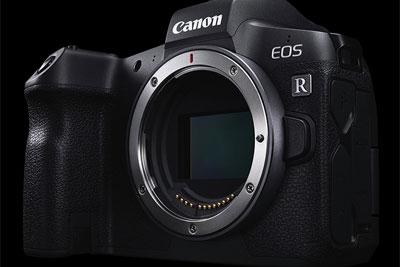 佳能高像素版EOS R相机部分信息曝光