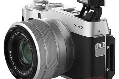 富士X-A7相机外观曝光