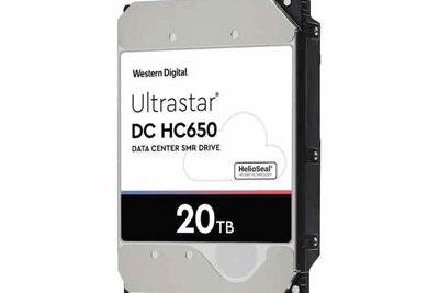 西部数据推出20TB机械式硬盘