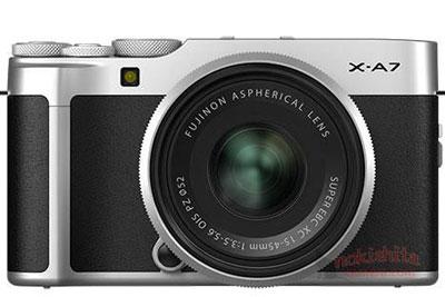 富士X-A7相机外观及规格曝光
