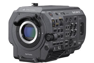 索尼发布PXW-FX9全画幅摄影机