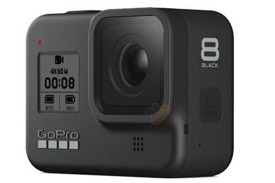 GoPro Hero 8运动相机外观曝光