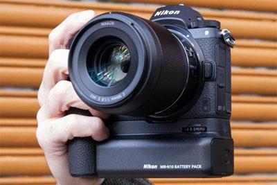尼康Z6、Z7相机MB-N10电池手柄实拍图