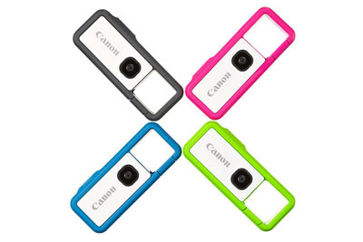 佳能正式发布IVY REC钥匙扣简略单纯相机