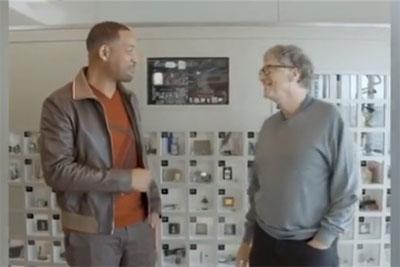 比尔·盖茨办公室曝光:实体版元素周期表震撼