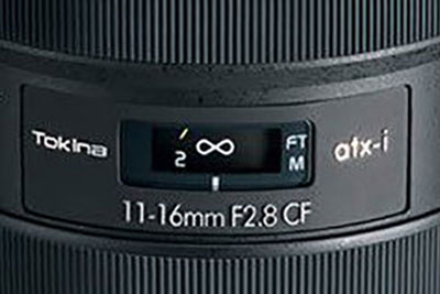 图丽行将发布atx-i 11-16mm F2.8 CF镜头