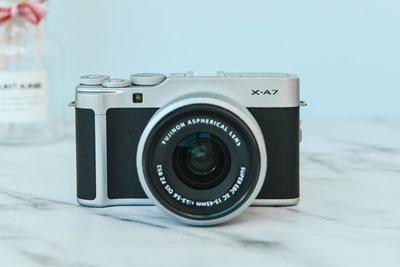 高性价比Vlog利器 富士X-A7无反相机测试