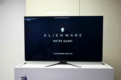 AlIENWARE发54.6寸OLED显示器 属于游戏的大年夜屏