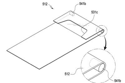 三星新专利曝光:自拍摄像头/听筒可以卷到屏幕下面