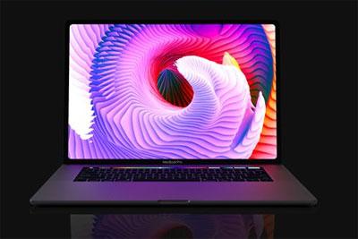 16英寸苹果MacBook Pro假想图:6个USB-C端口