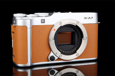 智能无反新起点 富士X-A7相机评测