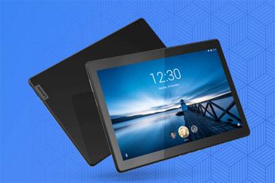 联想新款Tab M10平板真机曝光:大屏设计简洁路线