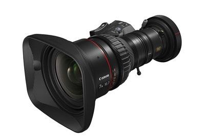 高变焦比长焦距 佳能发售首批8K广播级镜头