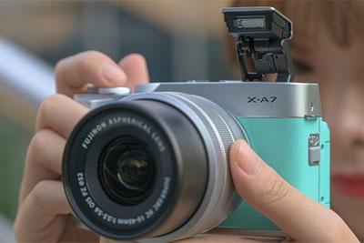 富士X-A7微单相机评测:极简的触摸操控体验