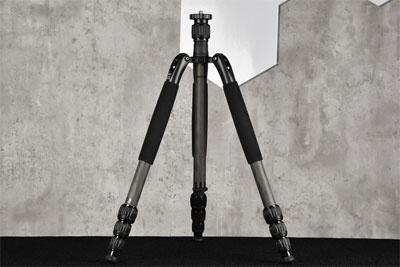 多功能碳纤维三脚架 思锐N-1204SK评测