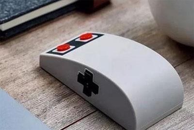 以NES为灵感:八位堂推融合了灵魂十字键无线鼠标N30