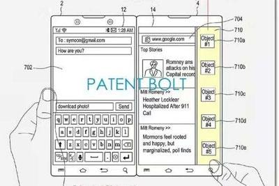 三星双屏手机专利图曝光 与微软Surface Duo非常相似