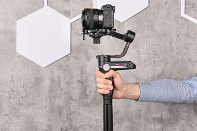 专业相机稳定拍摄 智云WEEBILL-S稳定器体验