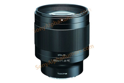 明年2月上市 图丽85mm F1.8 FE镜头曝光