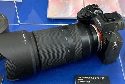 明年春季上市 腾龙70-180mm f/2.8镜头亮相