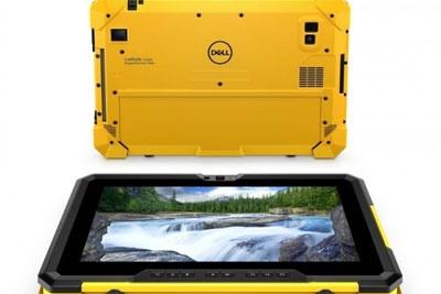 戴尔推出的这款平板电脑可以在爆破环境中使用