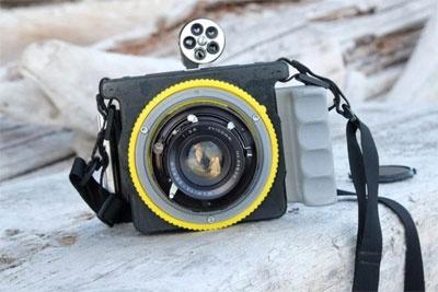 这位大神3D打印了一台相机 样片媲美电影画面
