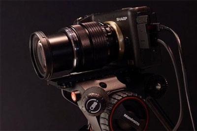 或2020年下半年亮相 夏普8K相机参数曝光