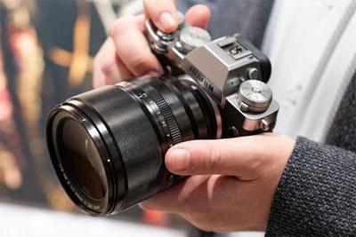 富士展示XF 50mm F1.0大光圈定焦镜头