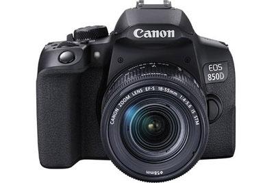 多方位升级 佳能发布数码单反相机EOS 850D
