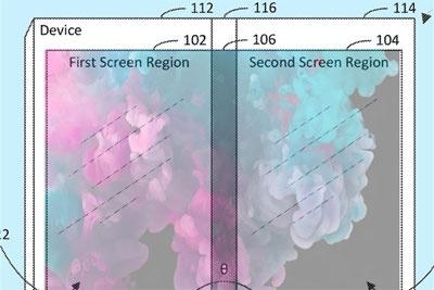 微软专利曝光全新3屏Surface 可无缝折叠